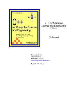 C++ for Computer Science and Engineering 4th Edition –, Best Book to Learn