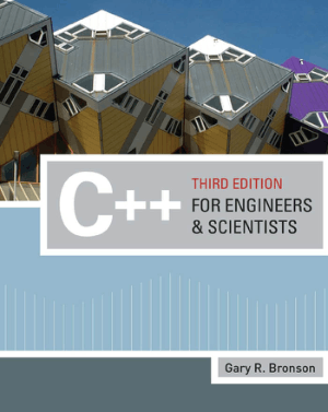 C++ for Engineers and Scientists Third Edition Book – FreePdf-Books.com