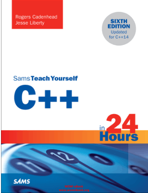 C++ in 24 Hours Sams Teach Yourself – FreePdf-Books.com