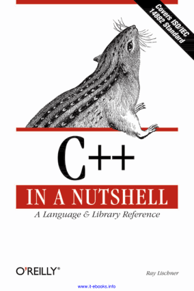 Free Download PDF Books, C++ in a Nutshell A Desktop Quick Reference Book –, Free Ebook Download Pdf