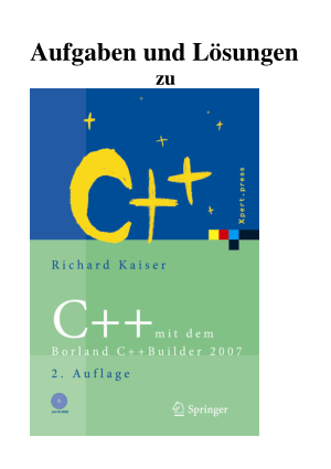 C++ mit dem Borland C++ Builder 2007 –, Ebooks Free Download Pdf